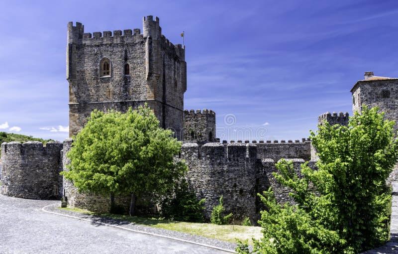 A citadela, Braganca, Portugal imagens de stock royalty free