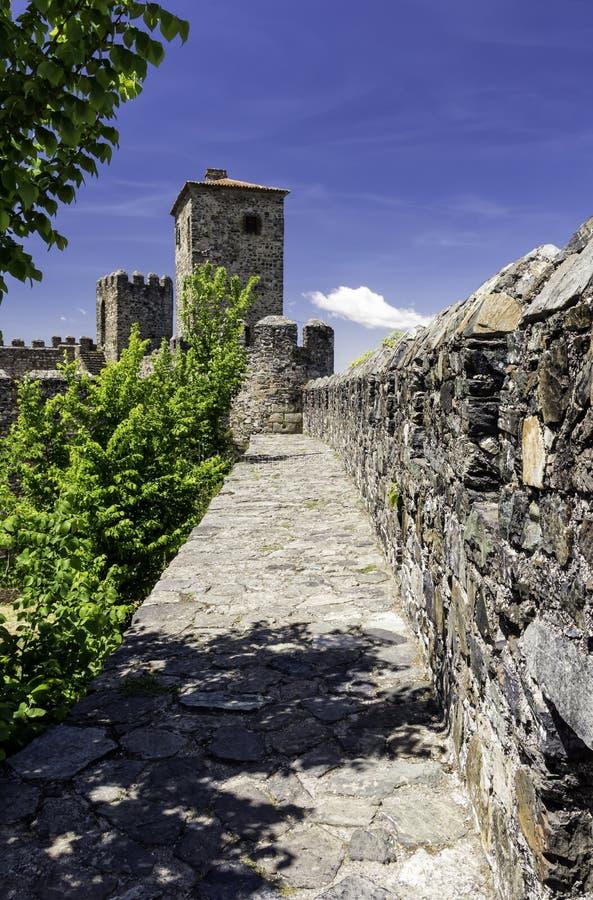 A citadela, Braganca, Portugal imagem de stock royalty free