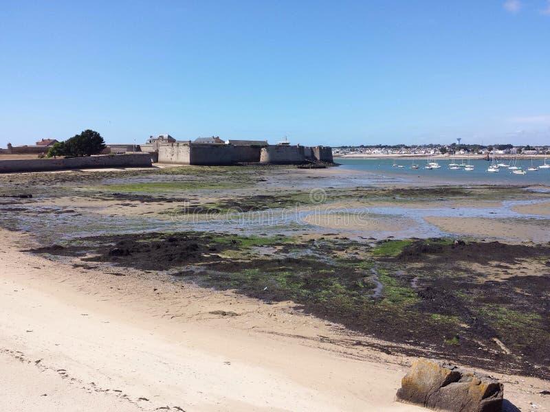 Citadela de Port Louis, Brittany, França foto de stock royalty free