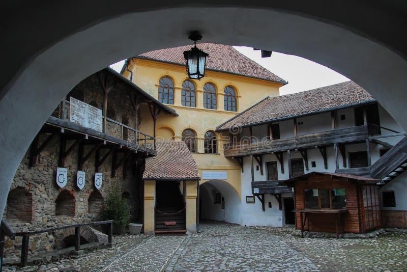 Citadela de Prejmer, Romênia imagem de stock royalty free