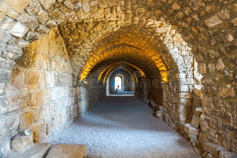 Citadela 13 dos cruzados de Byblos imagens de stock
