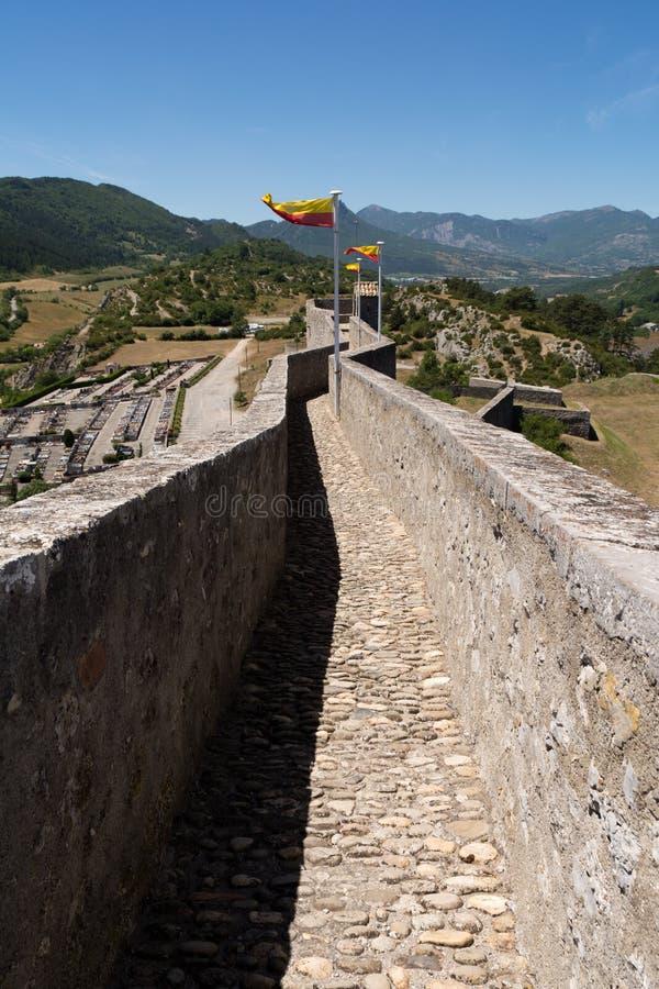 Citadela em Sisteron, França imagem de stock royalty free