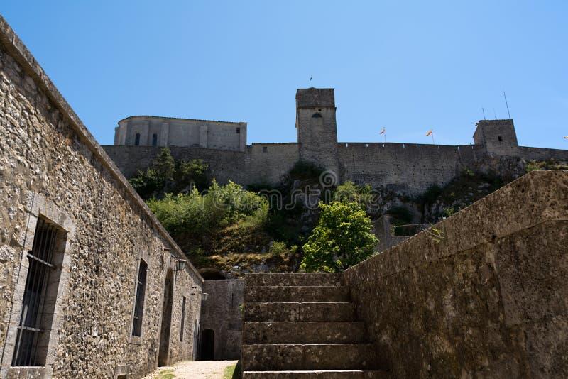 Citadela em Sisteron, França fotos de stock royalty free