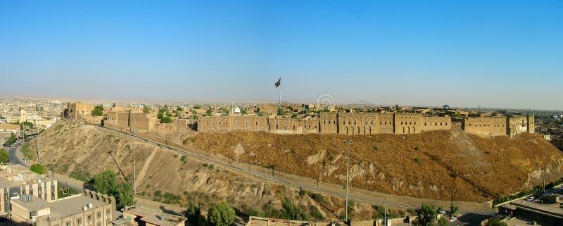 A citadela famosa de Erbil, Curdist?o Localmente, centro fotos de stock royalty free