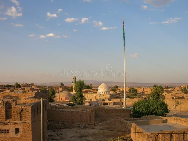A citadela famosa de Erbil, Curdist?o Localmente, centro foto de stock royalty free