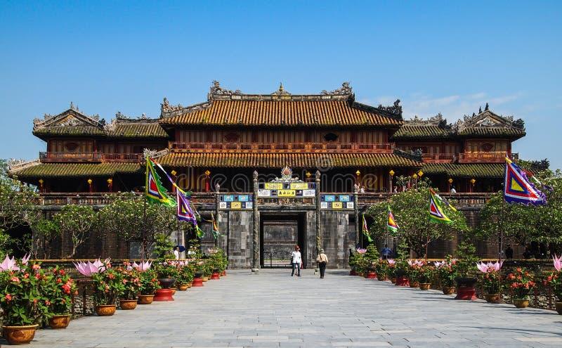 Citadela Hue Vietnam imagens de stock