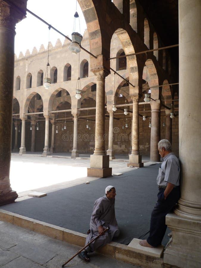 Citadela in Kaïro, Egypte stock fotografie