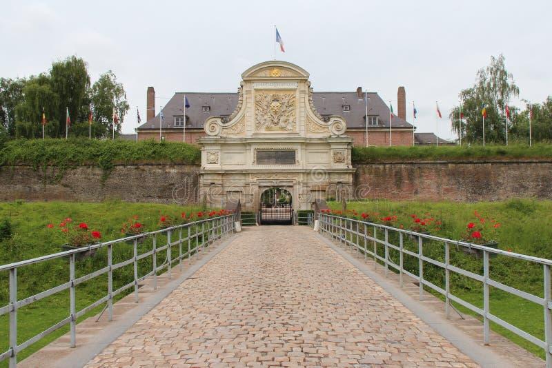 Citadela - Lille - França (2) fotografia de stock