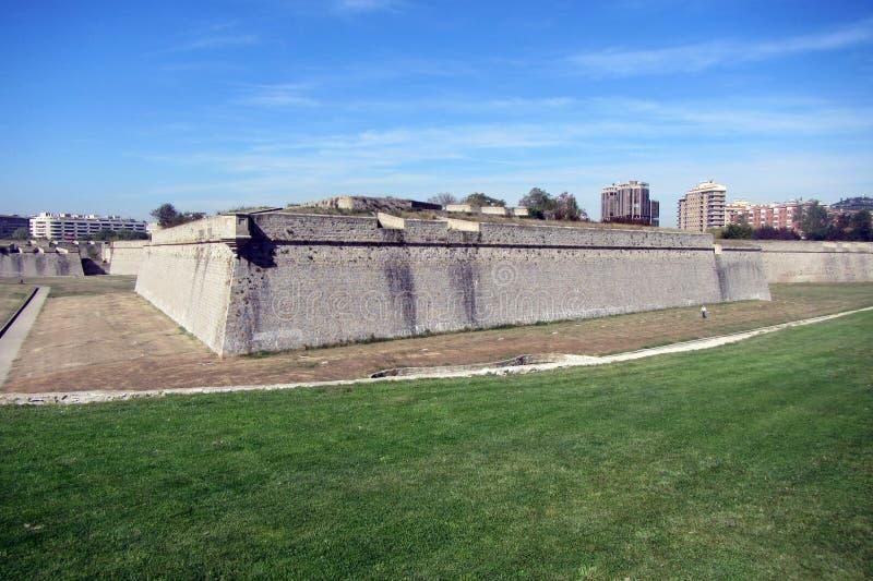 Citadell Памплоны стоковые фотографии rf