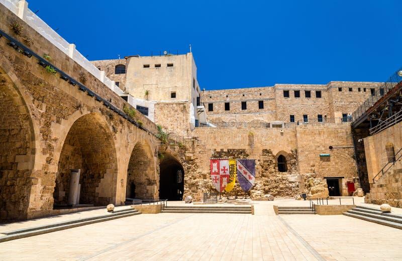 Citadell av tunnlandet, en ottomanbefästning i Israel arkivfoton