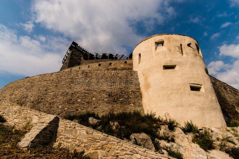 Citadell de Deva fotografía de archivo