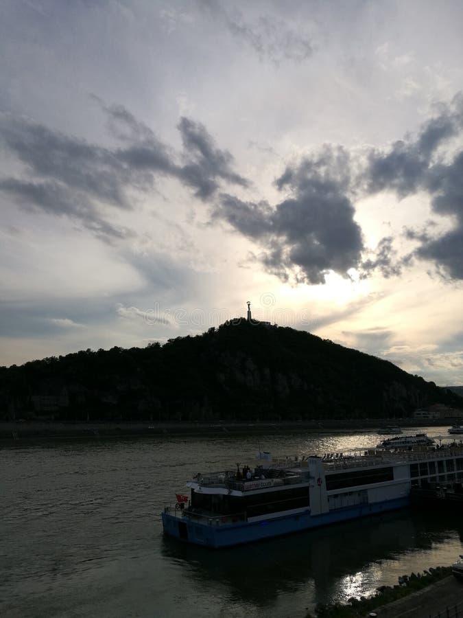 Citadella-Ansicht in Budapest lizenzfreie stockfotos
