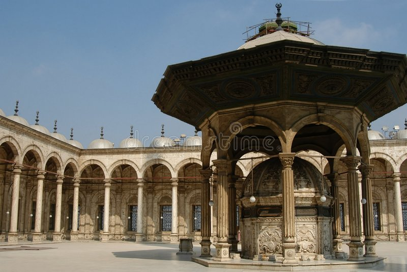 citadelle cairo. obraz royalty free
