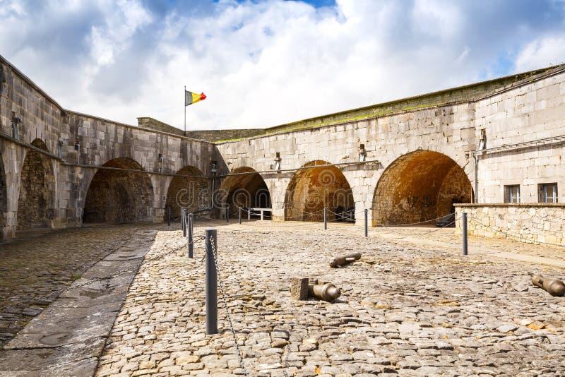 Citadelle dans Dinant photo libre de droits