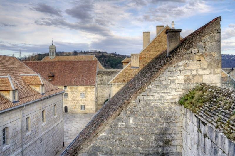 Citadelle de Besancon imagens de stock royalty free
