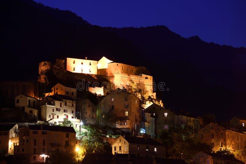 Citadelle de Corte, Corse, France royalty free stock images