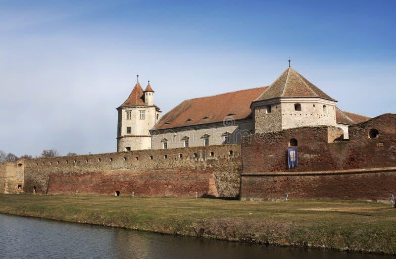 Citadelle de Făgăraş image stock
