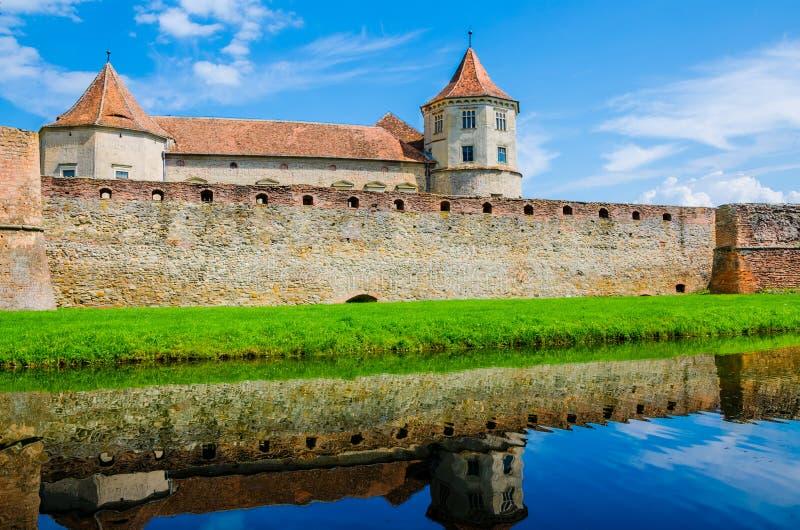 Citadelle de Fagaras image libre de droits