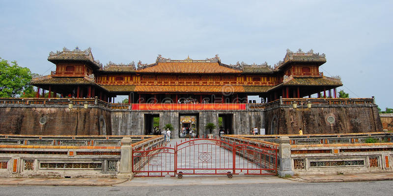 Citadelle de Hue, Vietnam image libre de droits
