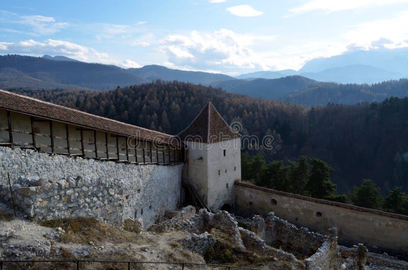 Citadelle de Rasnov image stock