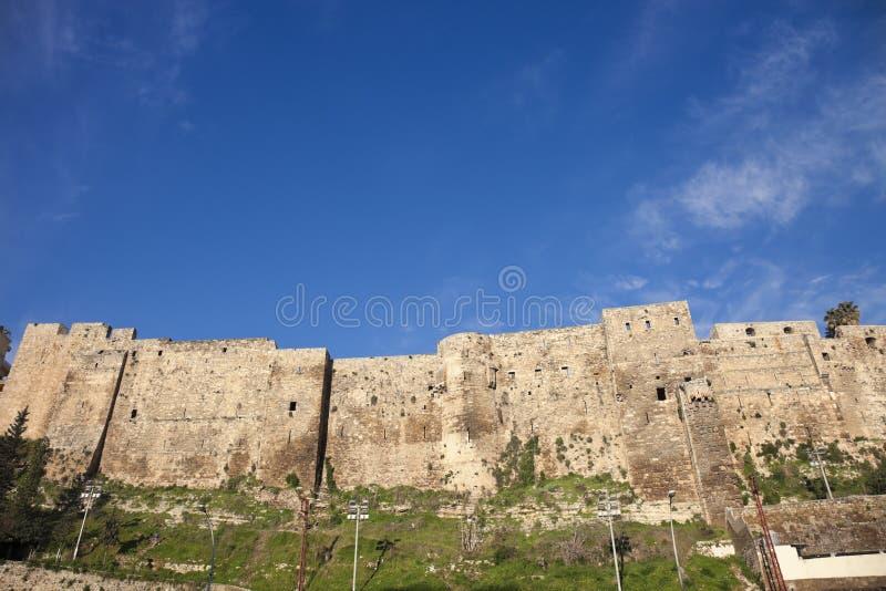 Citadelle de Raymond de Saint-Gilles image libre de droits
