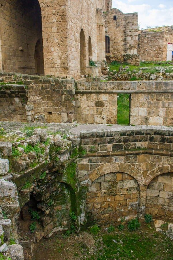 Citadelle de Raymond de Saint-Gilles ? Tripoli, Liban photos stock