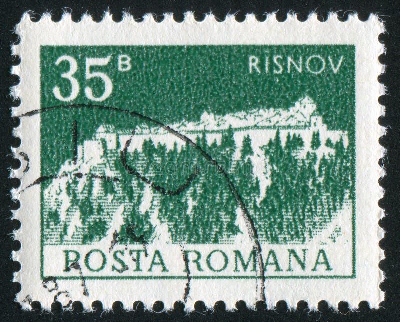 Citadelle de Risnov image libre de droits