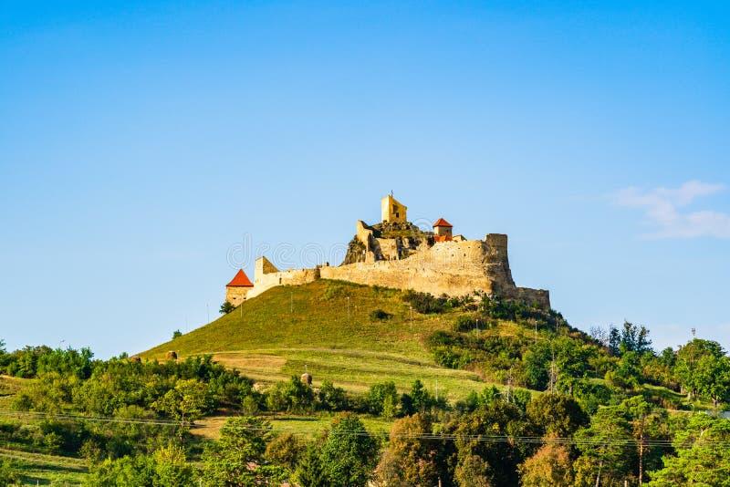 Citadelle de Rupea en comté de Brasov, la Transylvanie, Roumanie photographie stock libre de droits