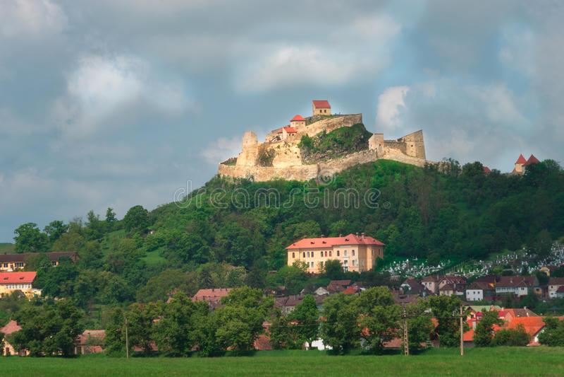 Citadelle de Rupea en Roumanie image libre de droits