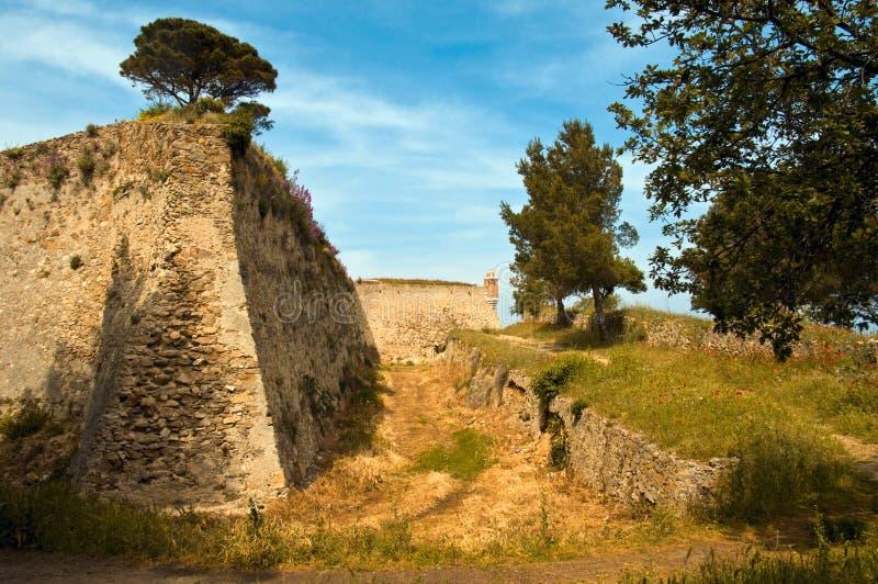 Citadelle de saint Tropez image libre de droits