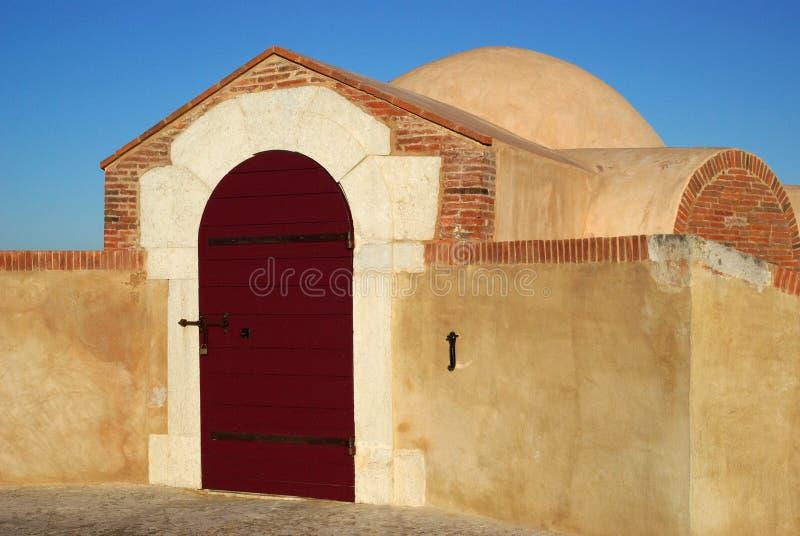 Citadelle de saint Tropez, France images libres de droits