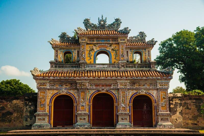 Citadelle en Hue images stock