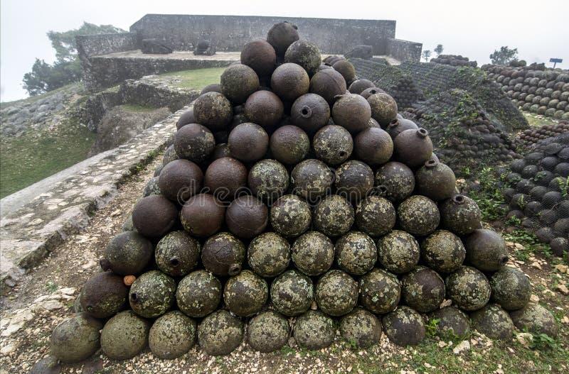 Citadelle Laferriere, Αϊτή στοκ εικόνα με δικαίωμα ελεύθερης χρήσης