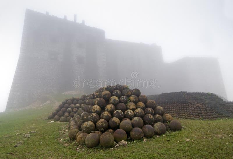 Citadelle Laferriere forteca obraz royalty free