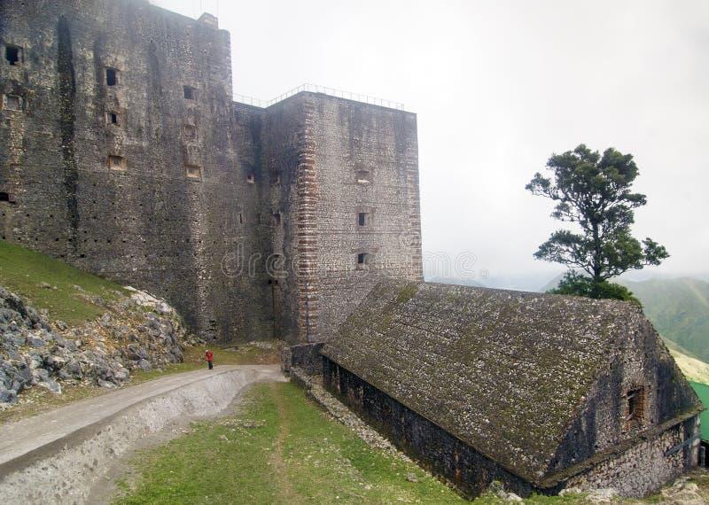 Citadelle Laferriere, Haïti stock foto's