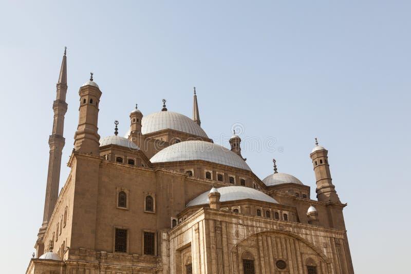 Citadelle le Caire Egypte de mosquée d'albâtre images libres de droits