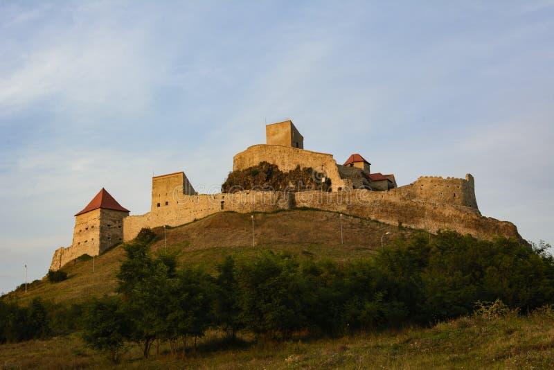 Citadelle médiévale de Rupea, Roumanie image libre de droits