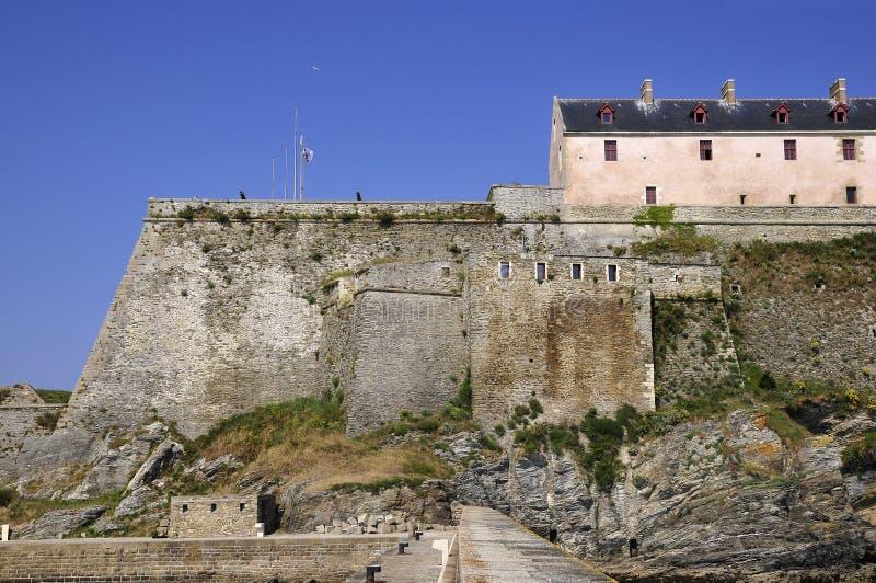 Citadelle Vauban de Le Palais à la belle Ile en France photographie stock libre de droits