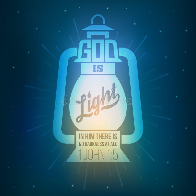 Citas de la biblia stock de ilustración