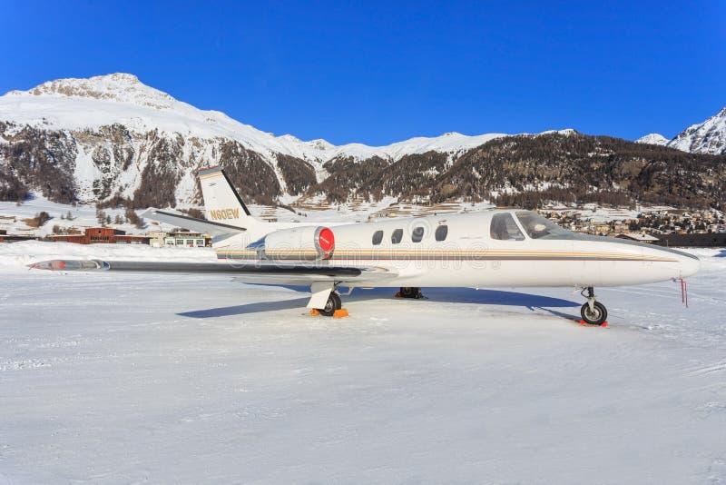 Citation de Cessna 501 images libres de droits
