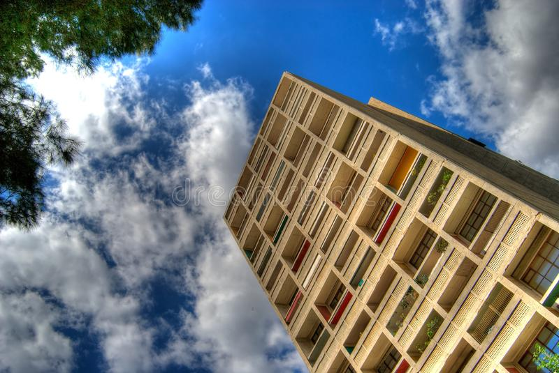 Cite Radieuse Corbusier imagenes de archivo