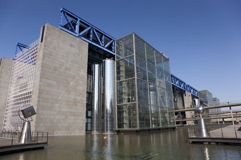Citera des-vetenskaper och de l'industrie, Paris arkivbilder