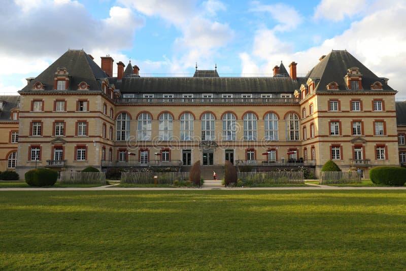 Citez Internationale Universitaire De Paris est un parc et une base privés situés à Paris, France images stock