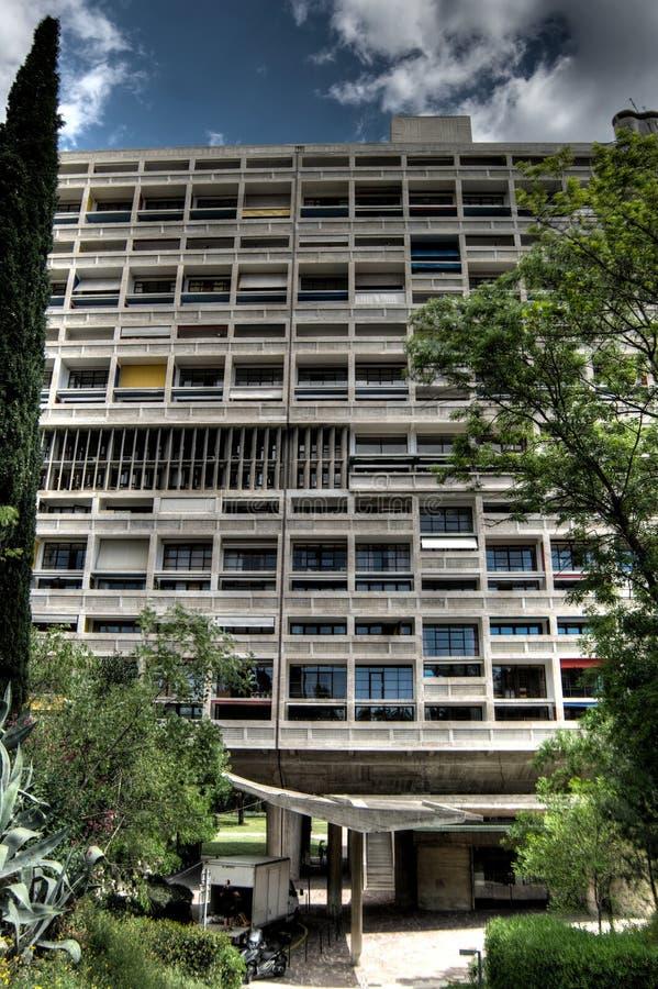 Citez Radieuse Corbusier photographie stock libre de droits