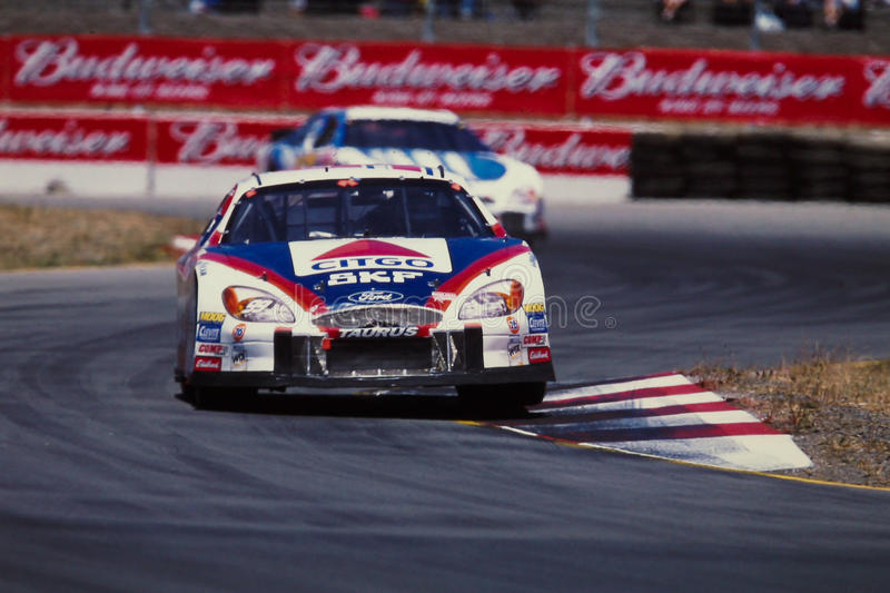 #99 Citgo Форд, управляемый Джеф Burton стоковые изображения rf