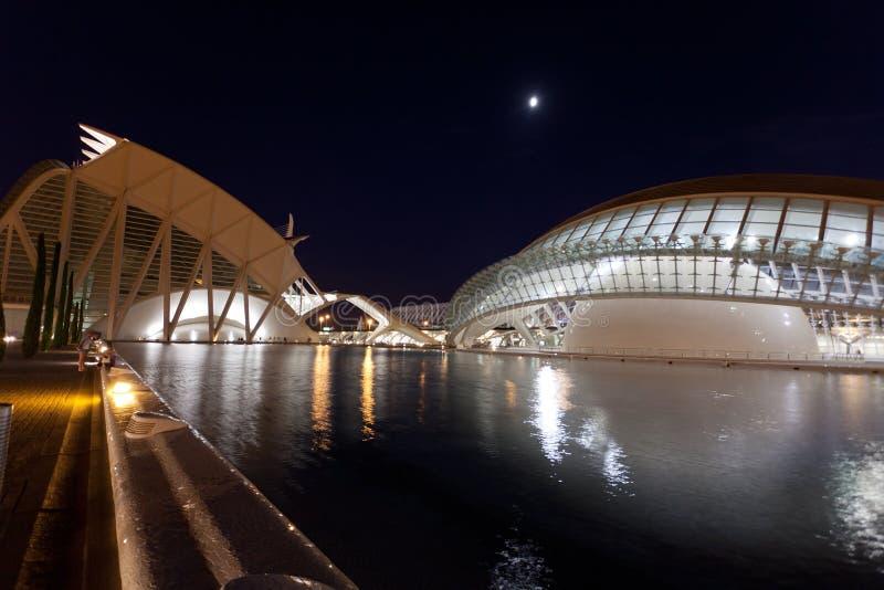 Citi of Arts and Sciences Valencia. Spain royalty free stock image