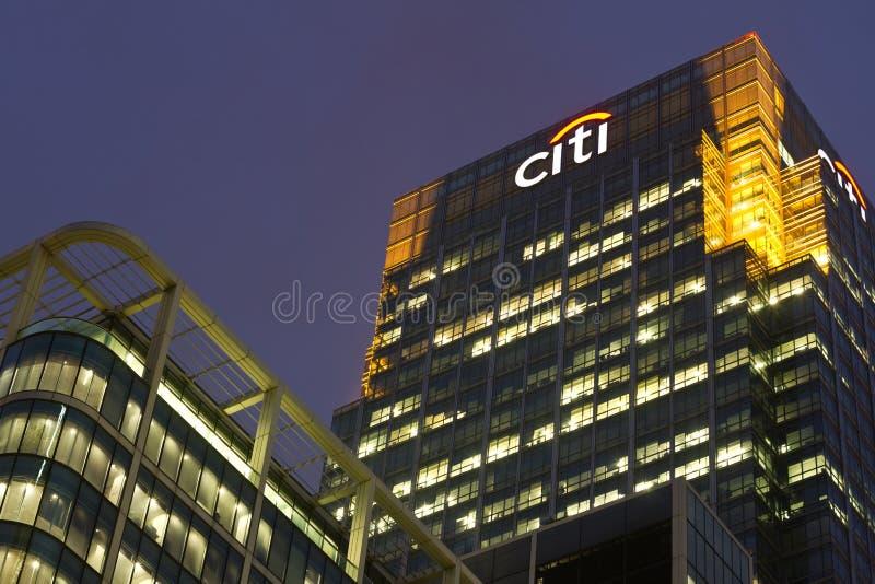 Citi Editorial Stock Image
