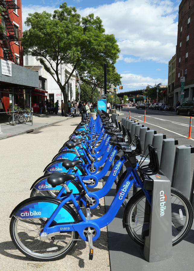 Download Citi Bike Station Ready For Business In New York Editorial Photography - Image: 31232947