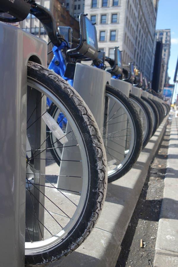 Citi Bikes stock photography