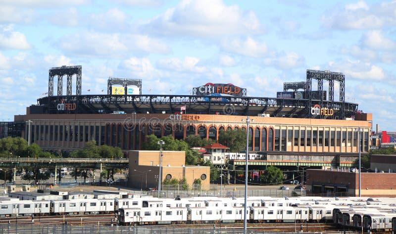 Citi Field, sede del equipo de béisbol de la liga mayor New York Mets in Flushing, Nueva York fotos de archivo